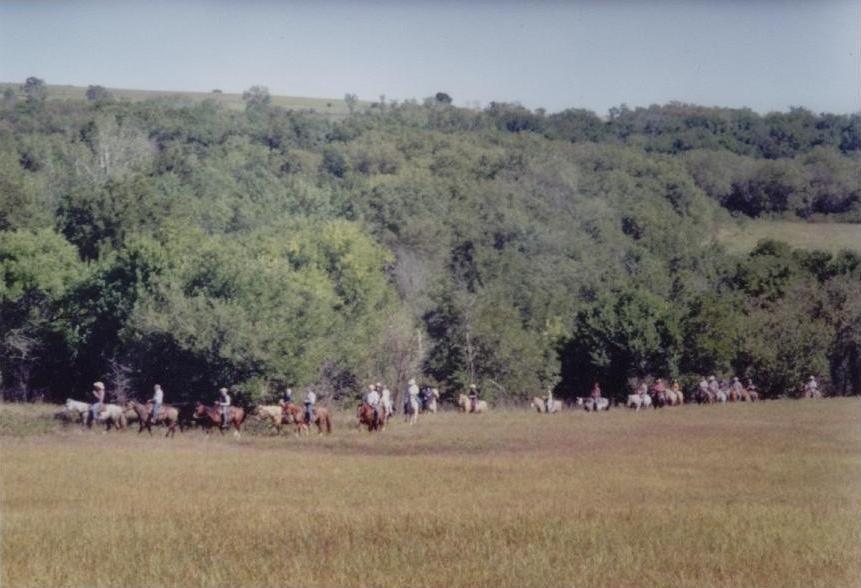 Melvern Lake Crooked Knee Horse Trail Eisenhower State
